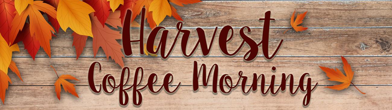 Web Image Banner Harvest Coffee Morning
