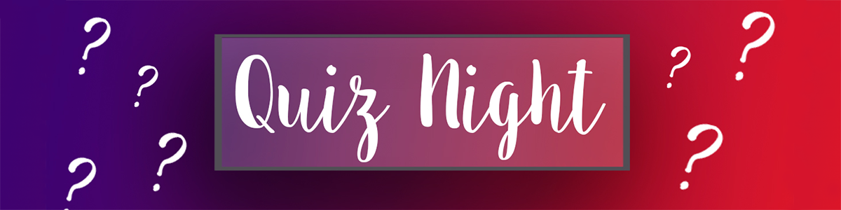 Quiz Night Web Banner