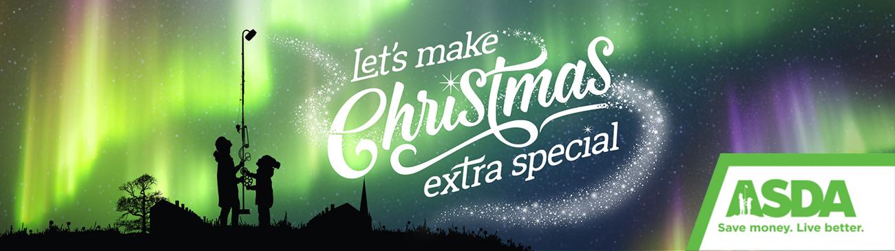 Asda Christmas Giving Website Header