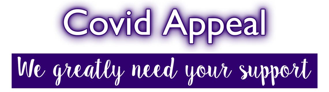 Covid Appeal Mini Banner