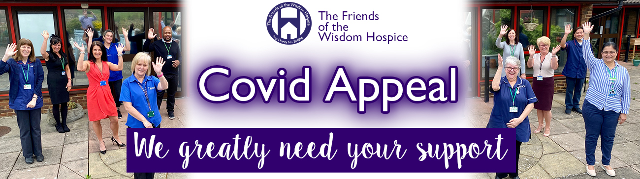 Covid Appeal Web page banner