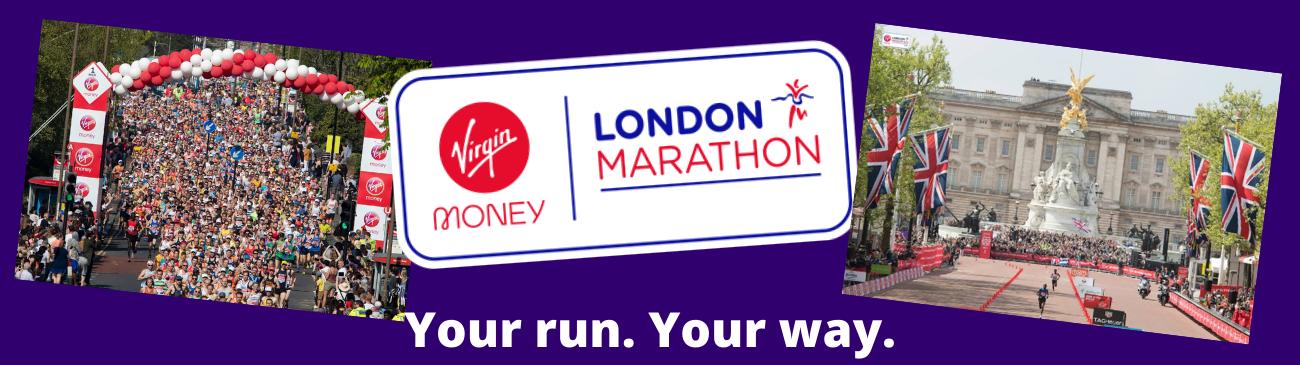 London Marathon, your run, your way