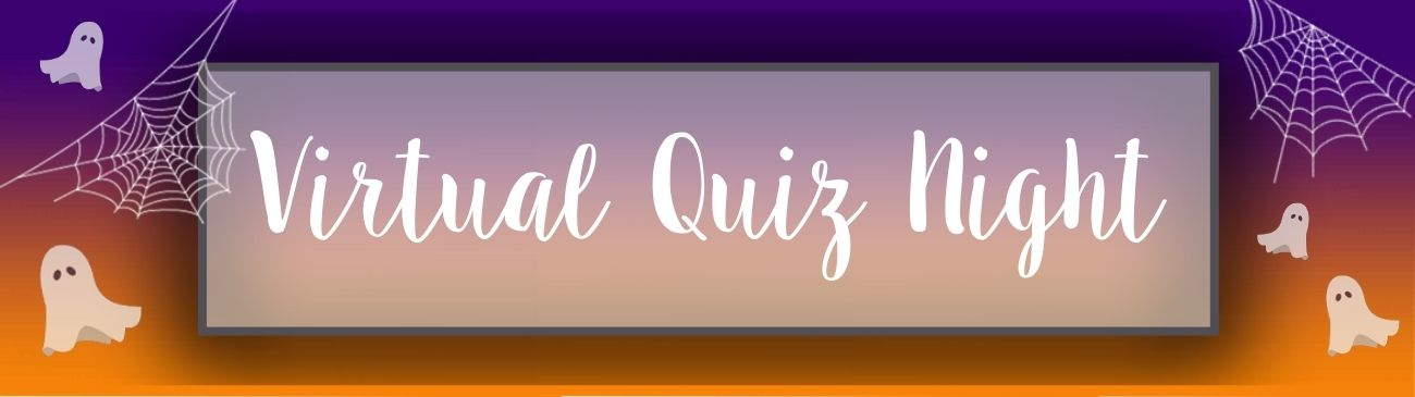 Halloween virtual quiz Web Banner
